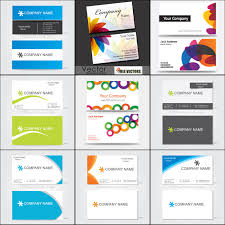 250 business card template vectors free vector