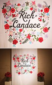 diy wedding backdrop names diy screen printed wedding backdrop this would be