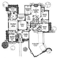 Chateauesque House Plans Florida Style House Plans 3276 Square Foot Home 1 Story 4