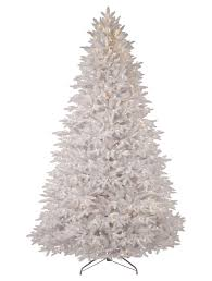 interior cool white pre lit artificial trees ideas for