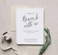 wedding brunch invitation brunch wedding invitations we like design