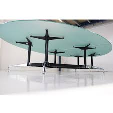 Glass Boardroom Tables Vitra Eames Glass Boardroom Table With Segmented Base Designer