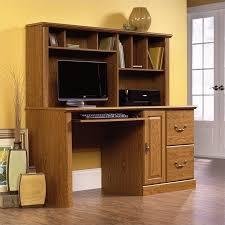 Hutch Transmission Sauder Orchard Hills Computer Desk With Hutch Carolina Oak Box 1