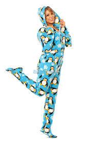 penguins hooded footed pajamas pajamas footie pjs onesies one