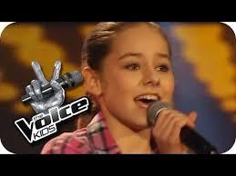 The Voice Kids Blind Auditions 2014 Lena Meyer Landrut Satellite Olivia The Voice Kids 2013