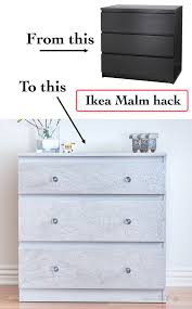 malm dresser ikea malm dresser hack using diy cracked paint anika s diy life