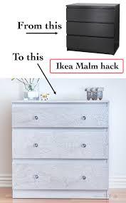 paint ikea dresser ikea malm dresser hack using diy cracked paint anika s diy life