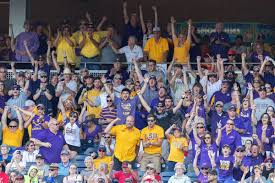 lsu fans are flocking to omaha by any means possible for cws