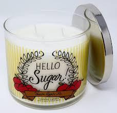 amazon com bath u0026 body works hello sugar warm apple pie 3 wick