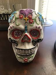 Day of the dead sugar skull decor Household in Fontana CA ferUp