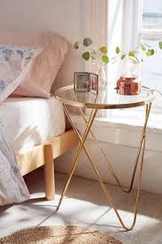 Small End Tables For Bedroom Best 25 Glass Side Tables Ideas On Pinterest Gold Nightstand