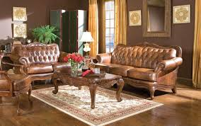 Antique Living Room Furniture by Top Three Benefits Of Decorating Your Living Room With Leather