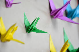 Origami Paper Works - origami crane stock photo image of school origami paperworks