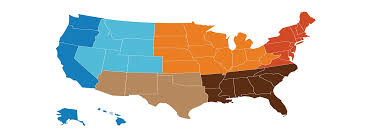 detailed map of the us understanding the importance of demographics in marketing
