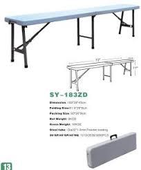 china long folding plastic banquet bench waiting bench