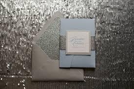 snowflake wedding invitations real wedding and custom snowflake sparkly