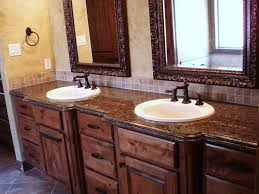 stunning bathroom with white vanities and undermount sinks also