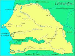 africa map senegal senegal countries gateway africa safaris