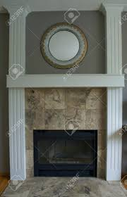 stone tile fireplace hearth surround install stacked veneer