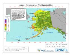 Alaska vegetaion images Windexchange alaska 30 meter residential scale wind resource map jpg