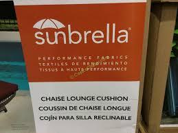 Sunbrella Outdoor Cushions Costco Replacement Chaise Cushion U2013 Costcochaser