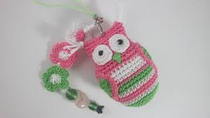 how to crochet a lovely owl keychain diy style tutorial