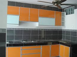 Orange Color Kitchen Cabinet Modern Kitchen San Luis Obispo - Orange kitchen cabinets