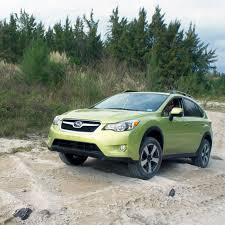 subaru xv green test drive 2014 subaru xv crosstrek hybrid cool hunting