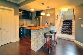 small basement kitchen ideas kitchen in basement impressive on regarding design 20 1024x679
