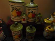 tupperware vintage apple canisters in collectibles ebay