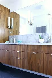 modern walnut kitchen a mid century modern inspired bathroom renovation before after