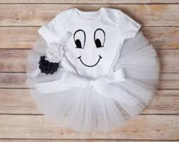 Halloween Ghost Costumes Ghost Tutu Costume Etsy