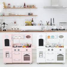 Kidkraft Urban Espresso Kitchen - teamson kids wooden play kitchen set u0026 reviews wayfair