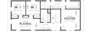 floor plan free thomaston 3152 4 bedrooms and 3 baths the house designers