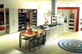 cuisine ouverte avec ilot central cuisine americaine avec ilot cuisine central photo de cuisine