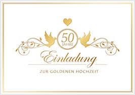 einladung goldene hochzeit erhältlich im 1er 4er 8er set einladung zur goldenen hochzeit