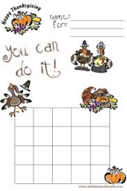 free printable thanksgiving sticker charts thanksgiving st