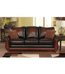 leather livingroom set living room sets bridgeville 4 leather set