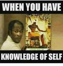 Meme Knowledge - when you have knowledge of self meme on me me