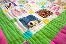 how to make a baby clothes quilt favequilts