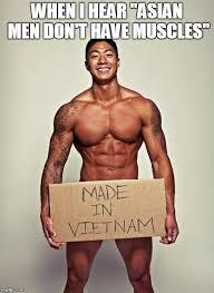 Muscle Man Meme - meme project asian american pop culture