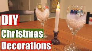 cheap and simple diy christmas decorations youtube
