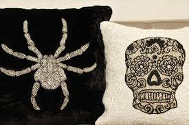 halloween pillows blog interiors by loredana