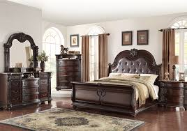 Sleigh Bed Set Stanley Cherry Sleigh Bedroom Set Evansville