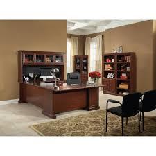 Sauder L Shaped Desk With Hutch Sauder Palladia L Shaped Desk With Hutch Shaker Cherry Computer In
