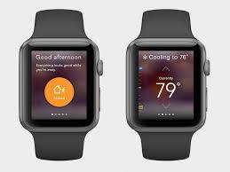 vivint applewatch app concept ui design interaction design and