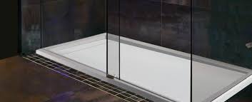 standard features solid surface shower bases mti baths