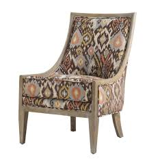 fabulous ikat accent chair for your modern furniture with