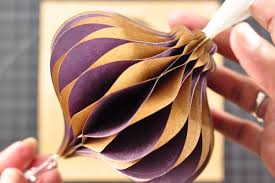 honeycomb ornament tutorial amazing paper grace