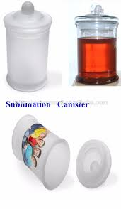sublimation blank ceramic kitchen canister for peper salt sugar